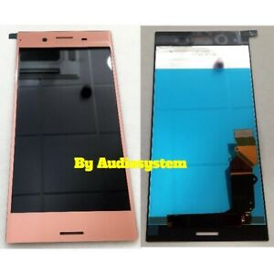 LCD-Display-Touch-Screen-For-SONY-XPERIA-Xz-Premium-G8141-G8142-Pink-Glass