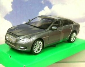 SUPERB-WELLY-NEX-MODELS-1-24-SCALE-DIECAST-2010-JAGUAR-XJ-METALLIC-GREY-22517W