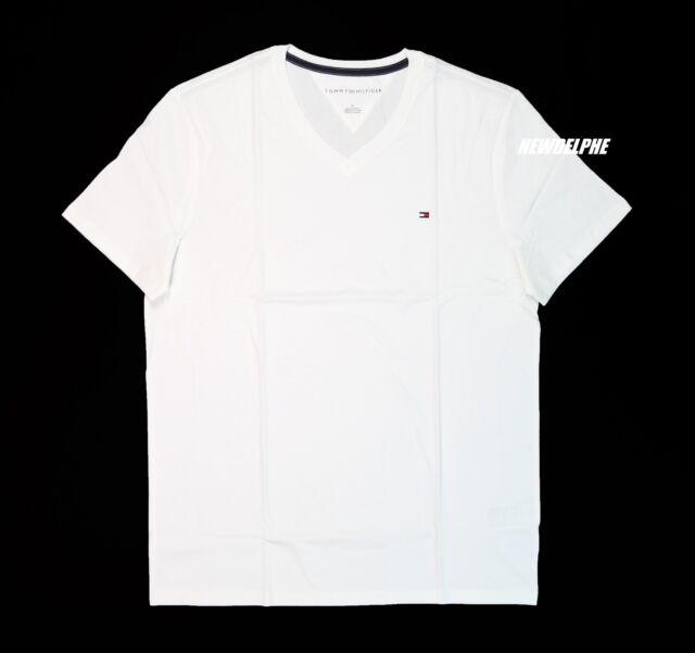 a8d97e643a4d4 Mens Tommy Hilfiger Short Sleeve Crewneck T Shirt XXL 2xl Yellow