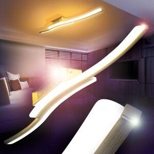 LED Lámpara de techo elegante diseño ondulado dormitorio cocina ...