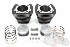 883 to 1200 Black Cylinder 9.5:1 Piston Big Bore Conversion Kit Harley Sportster