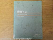 OKUMA CNC LATHE LR15 T-2S_PARTS BOOK MANUAL_LE15-020-R3_LE15020R3