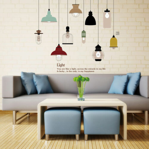 Lamp Chandelier Wall Decal Home Decor Vinyl Art Removable Sticker