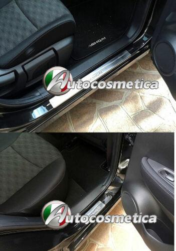 Battitacco Per Nissan Qashqai 14-19 4 protezione soglia entrata battitacchi