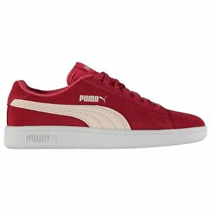 Details about Puma Kids Girls Smash Suede Junior Trainers Lace Up Everyday  Tonal Stitching becfc4e62
