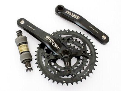 Truvativ SRAM Powerspline Crank Chainset 8 9 Speed 42//32//22 triple mtb 175mm