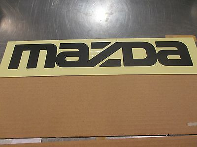 1986 To 1993 Gold Mazda B2200 /& B2600 Tail Gate Factory Decal