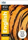 Letts KS3 Revision Success - New Curriculum: KS3 English Workbook by Letts KS3 (Paperback, 2014)