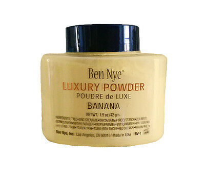 Ben Nye New Banana Luxury Face Powder 1.5oz Makeup Kim Kardashian Contour Single