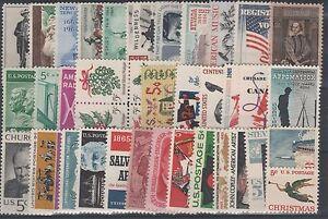 FRANCOBOLLI-1964-65-USA-STATI-UNITI-LOTTO-MNH-Z-6276