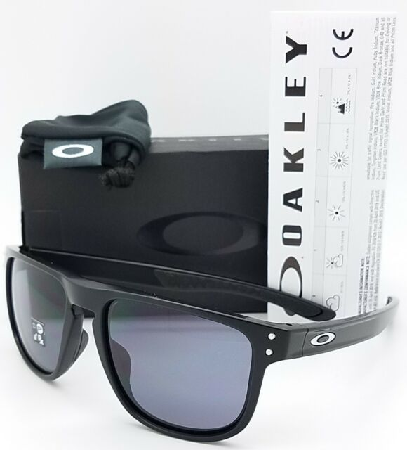 3447639991 NEW Oakley Holbrook R sunglasses Matte Black Grey 9377-0155 GENUINE Round  9377