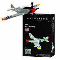 Nanoblock P-51 MUSTANG AIRPLANE -