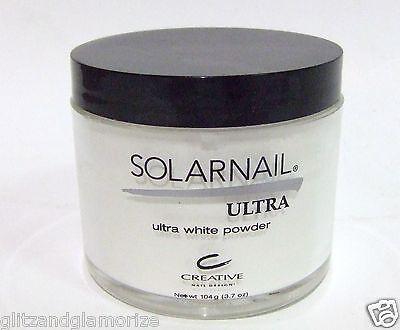 CND Creative SOLARNAIL Acrylic Nail Powder 3.7oz/104g Black Lid
