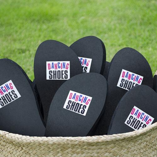 """autocollant Chaussures de mariée Chaussure autocollant Chaussure sticker /""""Dancing shoes/"""" 2 Lots"""
