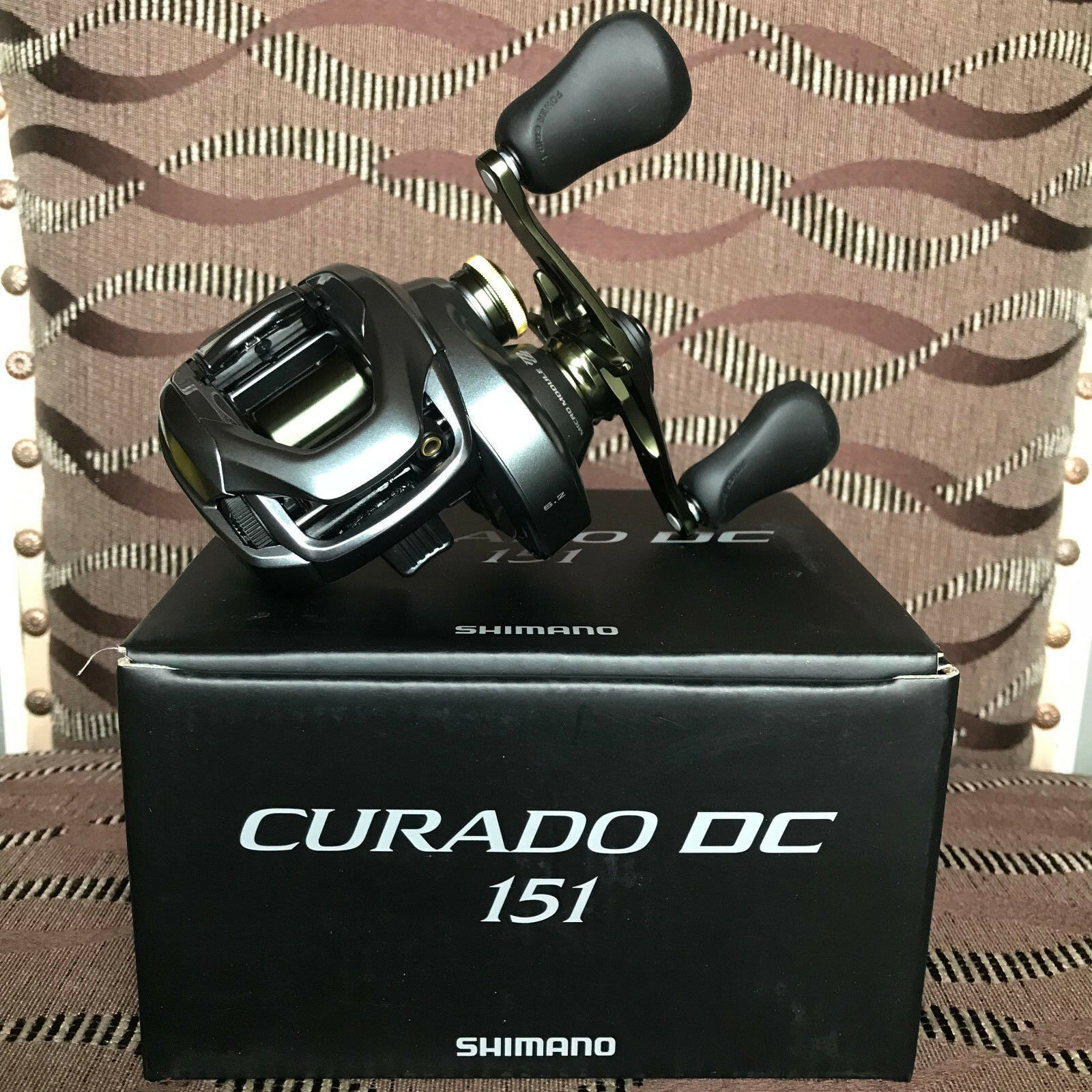 Shimano Curado DC 151 Linkshand Baitcastrolle NEW 2018 Model