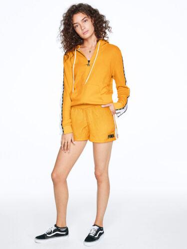 alta 667548415323 Pink Short Secret Xsmall Nylon Victoria's Giallo Logo Nwt bianco Vita gIa5qP