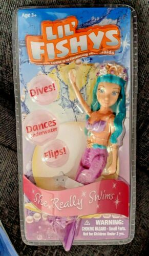 Princess Gift Toy 3 Choices Lil/' Fishys Mermaids Dive Dance Underwater Flip