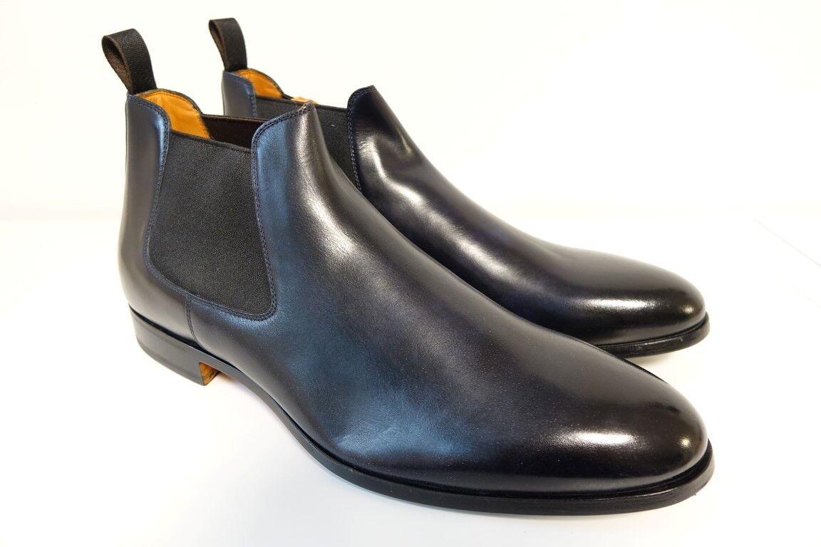 SANTONI Schuhe Stiefel Stiefel Businessschuhe Gr. 10,5 (44,5) - SONDErotITION -NEU    | Praktisch Und Wirtschaftlich