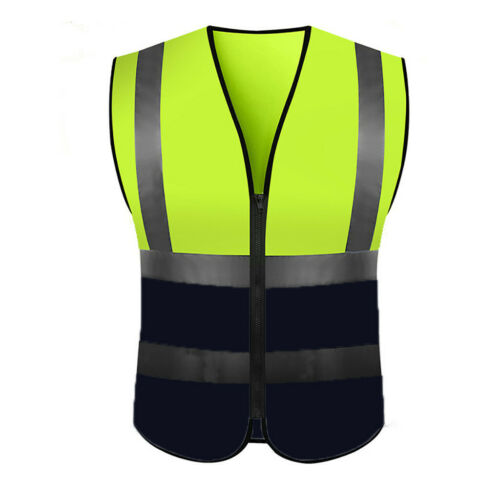 ⭐High Visibility Running Reflective Vest Security Equipment Night Work Tops Vest