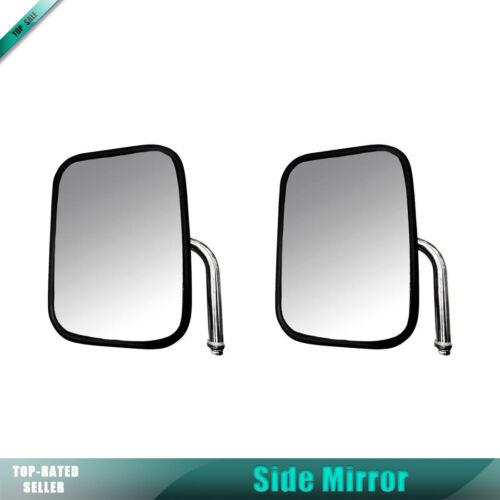 Dorman Pair Manual Side Mirror Stainless Steel For FORD E-150 E-250 E-350 E-450