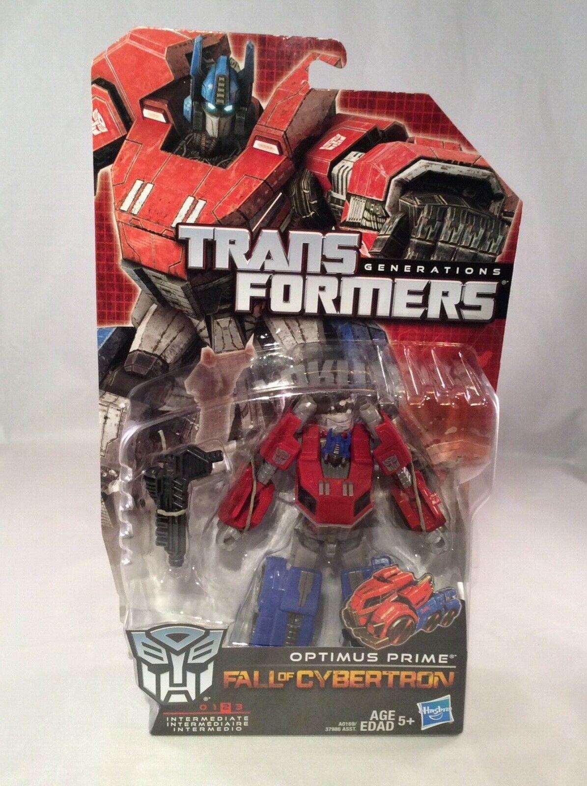 Transformers Fall of Cybertron OPTIMUS PRIME 2012 Autobot Sealed Hasbro Series01