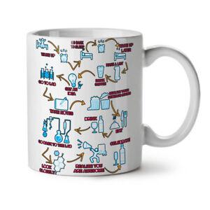 Chemistry Geek Life NEW White Tea Coffee Mug 11 oz | Wellcoda