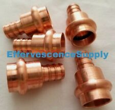 Lot Of 5 12 Propress X Pex Adapter Coupling Press Brass Or Copper X Clamp Pex