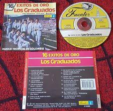 Son Guaracha Latin LOS GRADUADOS **16 Exitos de Oro** ORIGINAL 1991 Colombia CD
