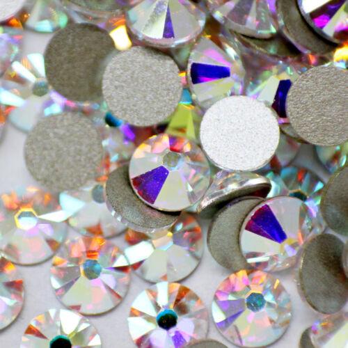 Swarovski crystals flat back gems stones strass rhinestones non hotfix 30 pcs