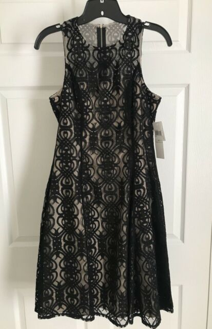 d5a246a9043 NWT Maggy London Womens Black Lace Cocktail Dress