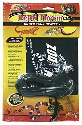 Zoo Med Reptitherm Uth Under Tank Heater 30 40 Gallon