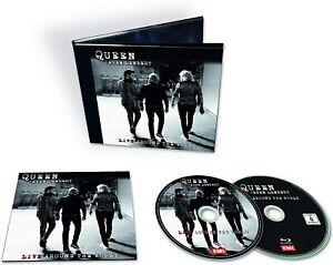Queen-And-Adam-Lambert-Live-Around-The-World-CD-Blu-Ray-Sent-Sameday