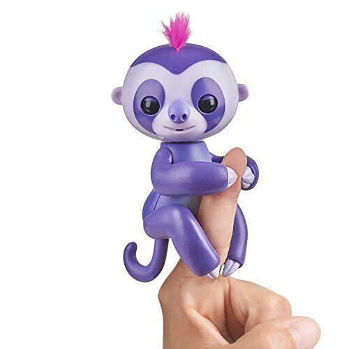 reagiert auf Geräus Fingerlings Faultier lila Marge 3752 interaktives Spielzeug