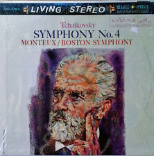 TCHAIKOVSKY / SYMPHONY NO. 4 - MONTEUX - RCA 2369 - LIVING STEREO - LP IN SHRINK
