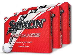 Srixon-Distance-9-Golf-Balls-3-Dozen-White-Mens