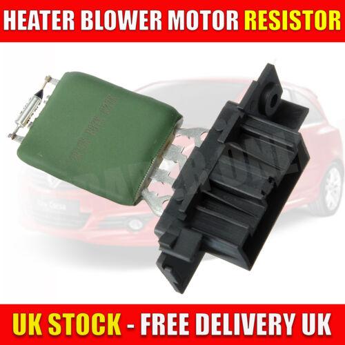 Vauxhall corsa d heater fan blower cabine désobéira 13248240 aftermarket part new