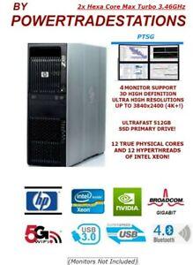 XFAST-HP-Z600-Workstation-Trading-Computer-4Mon-12CoreXeon-512SSD-1TBHDD-48GBRAM