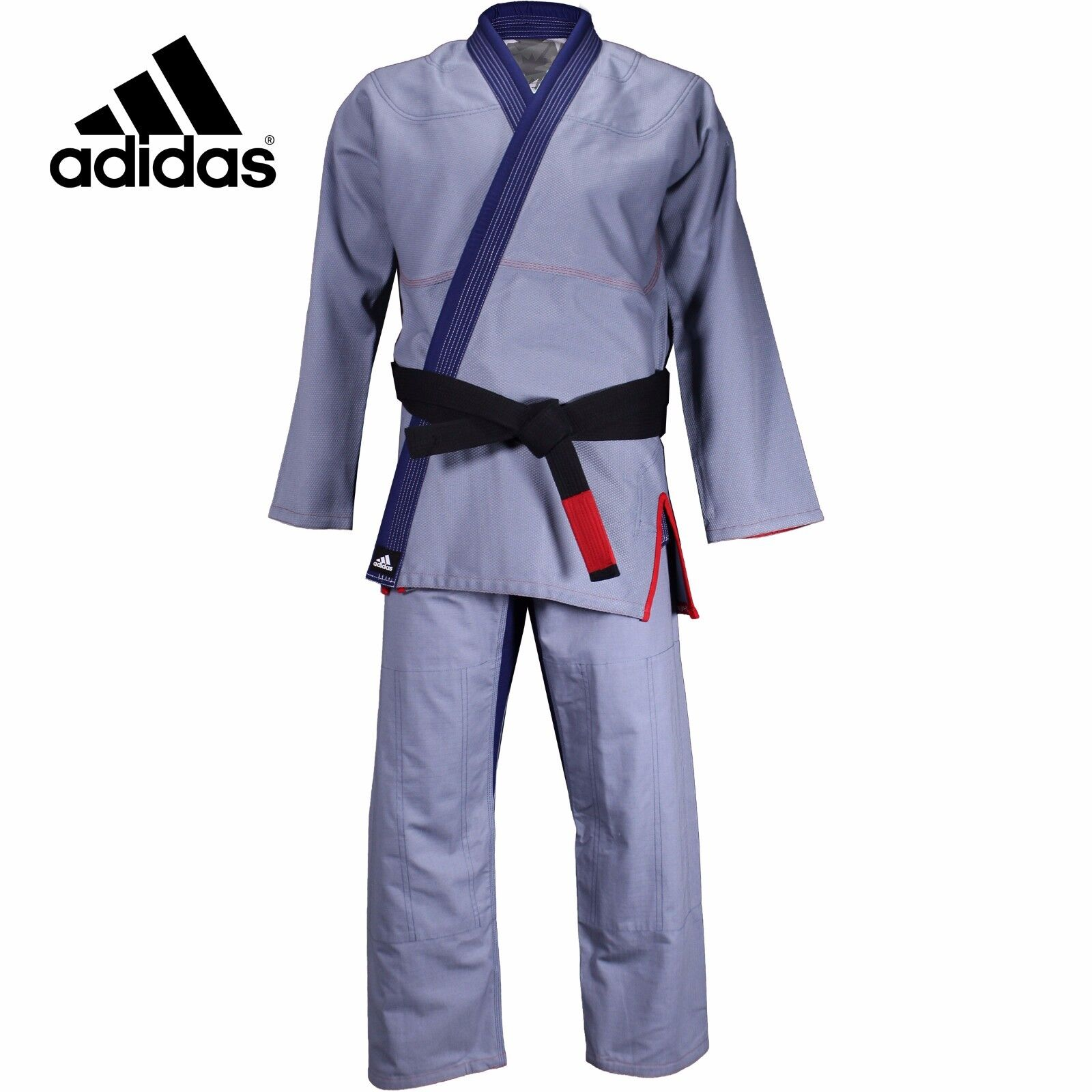 Adidas Stars & Stripes Jiu Jitsu Gi BJJ Gi 450gr Pearl Weave With Adidas Gi Bag