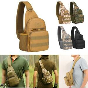 Military Crossbody Shoulder Bag Oxford Military Haversack Tactical Hiking Travel