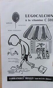 page-de-publicite-MEDICAMENTS-LUGOCALCION-par-Segen-en-1964-ref-66587