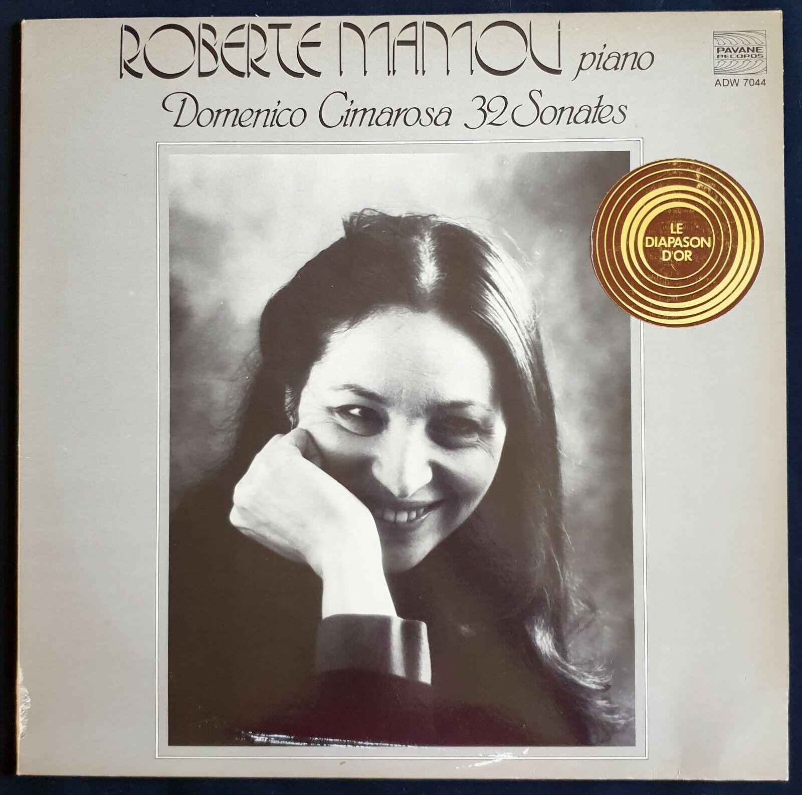 Photo 01 - PAVANE vinile LP domenico cimarosa, ROBERTE MAMOU