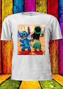 Ponctuel Disney Lilo Et Stitch T-shirt Classique Cool Débardeur Débardeur Hommes Femmes Unisexe 386-afficher Le Titre D'origine Ventes De L'Assurance Qualité