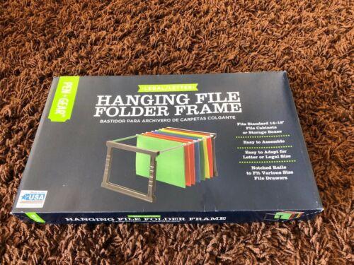 Legal Letter Hanging File Folder Frame Adjustable  fits 14-18 cabinet Pen Gear