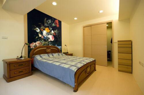 3D Flowers Paint 544 Wallpaper Murals Wall Print Wallpaper Mural AJ WALL AU Kyra