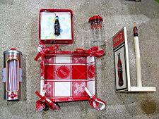 Kitchen Accessories Lot Coke Coca-Cola Napkin Holders Straw paper towel Holder