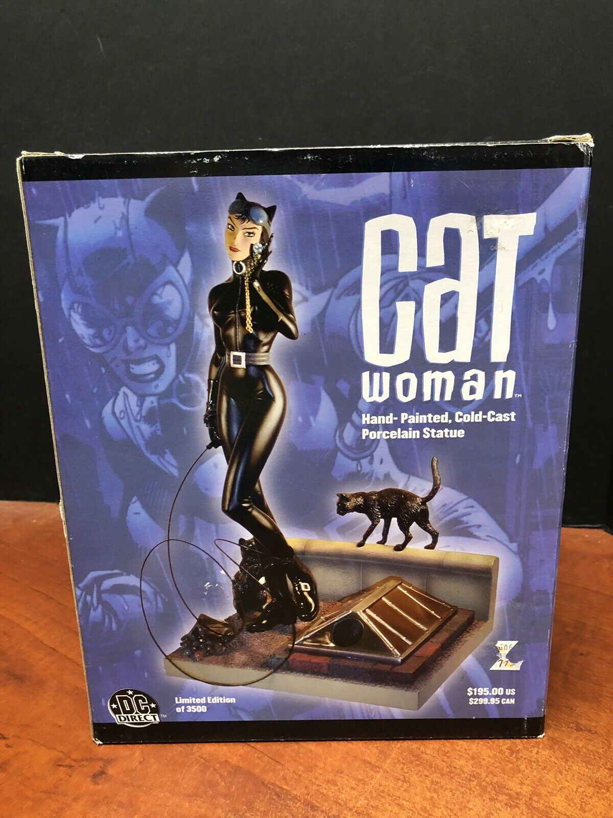 DC Direct Cat Woman Hand Painted Cold Cast Statue TAMP0200