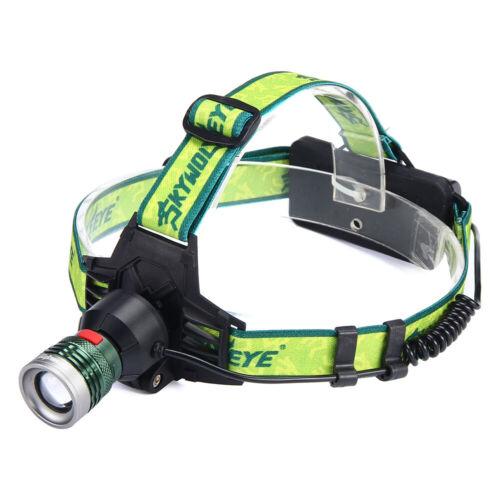 20000LM Rechargeable T6 Headlamp Headlight Flashlight Head Light Lamp USB NG