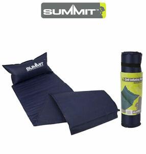 Gonfiare Materassino Campeggio.Dettagli Su Summit Bodybase 300 Self Gonfiare Materassino Dormire Cuscino Materasso Campeggio All Aperto Mostra Il Titolo Originale