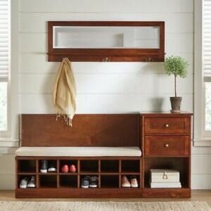 Fine Details About Shoe Cubbies Entryway Storage Bench With Cushion Elegant Foyer Furniture Shoes Forskolin Free Trial Chair Design Images Forskolin Free Trialorg