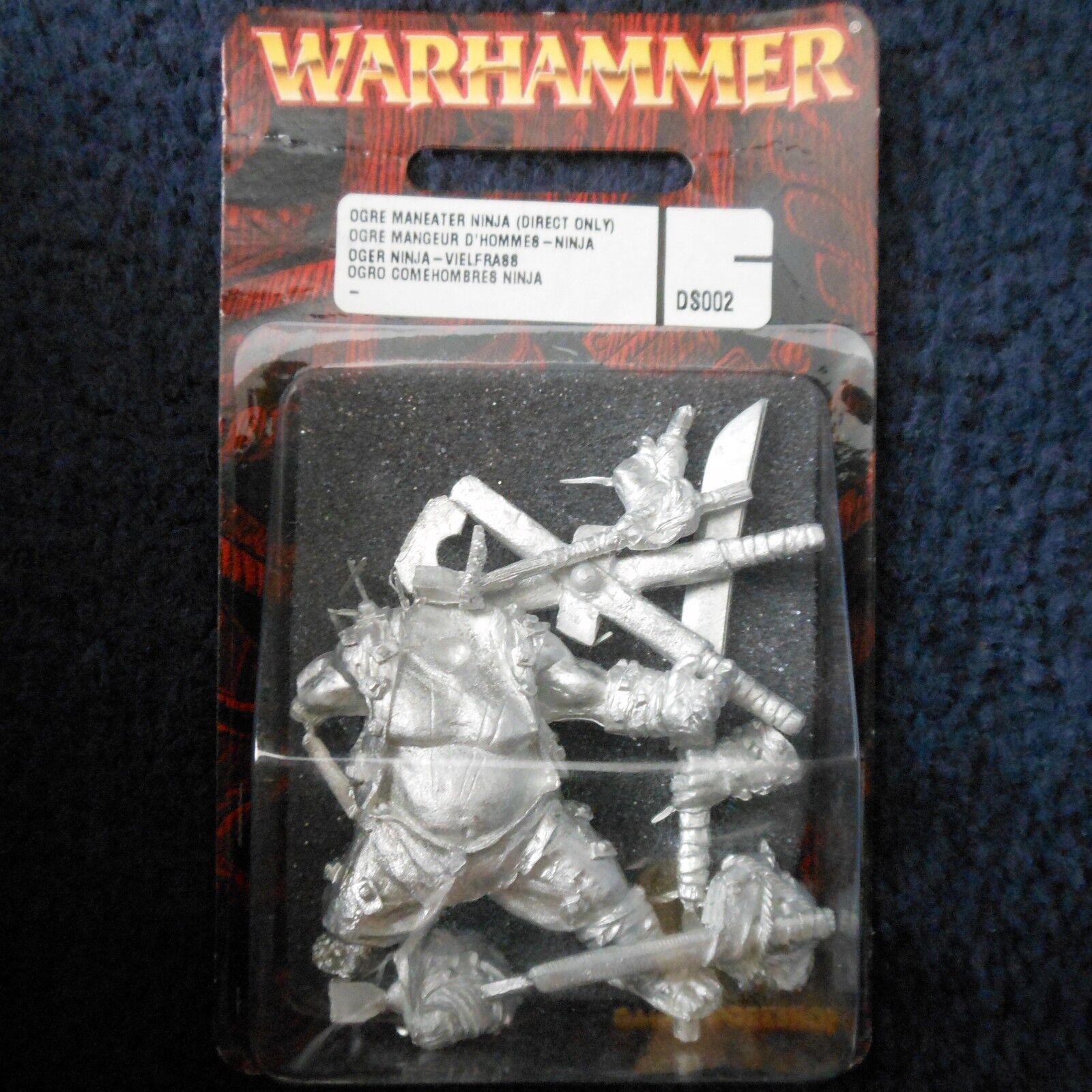 2001 Ogre Ninja Maneater DS002 Direct Only Warhammer Kingdoms Citadel Ogor MIB